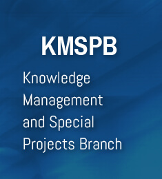 Knowledge Management and Special Projects branch (KMSPB)